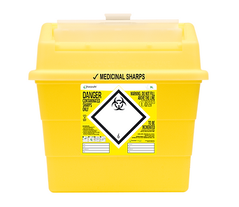 13 Litre Protective Access Sharpsafe container - 5 pack