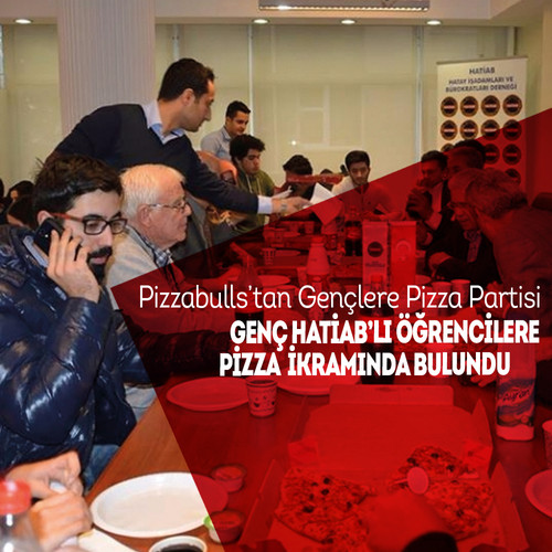 Pizzabulls'tan Gençlere Pizza Partis