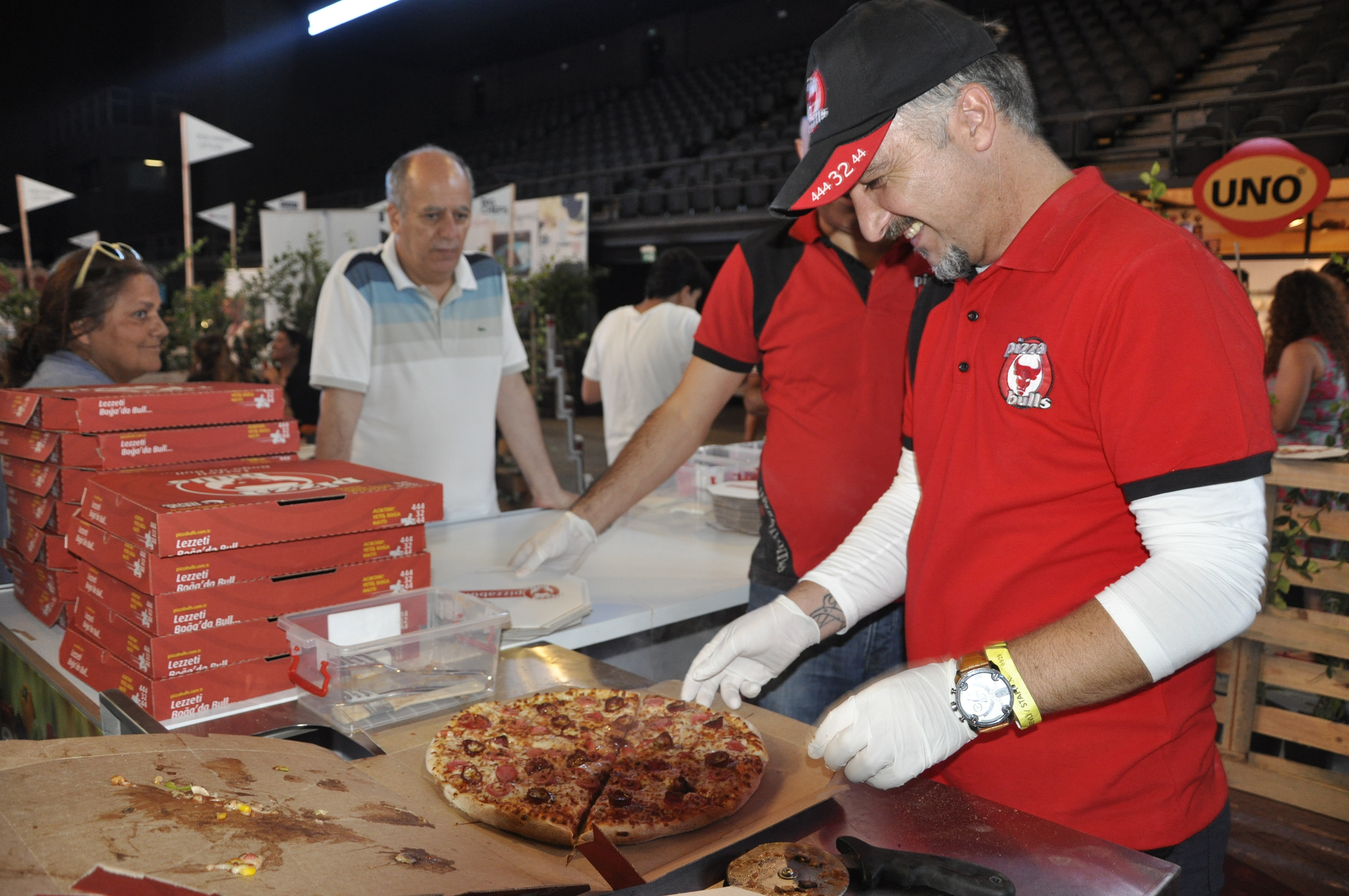 pizza etkinlik