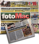 Fotomaç Gazetesi 'Pizzabulls'