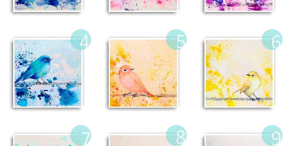 Ensemble de 10 cartes postales
