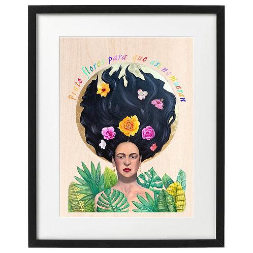 IMPRESSION - Hommage à Frida Kahlo