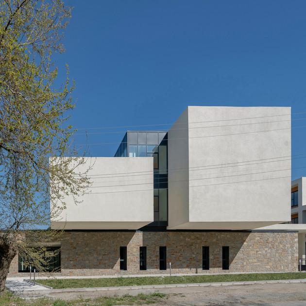 PAB Architects Gokceada High School Campus