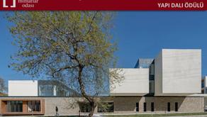XVII. Ulusal Mimarlık Ödülleri'nde Gökçeada Lise Kampüsü Yapı Dalı Ödülü'ne Layık Görüldü