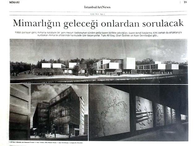 İstanbul Art News, Eylül 2014