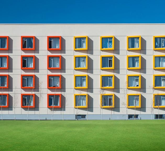 PAB Architects Ayhan Sahenk Student Dormitory