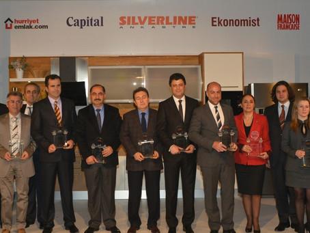 Türkiye'nin En Başarılı Emlak Yatırımları'nda PAB'ın İki Projesine İki Ödül