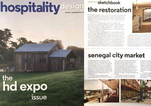 Hospitality Design, Mayıs 2016
