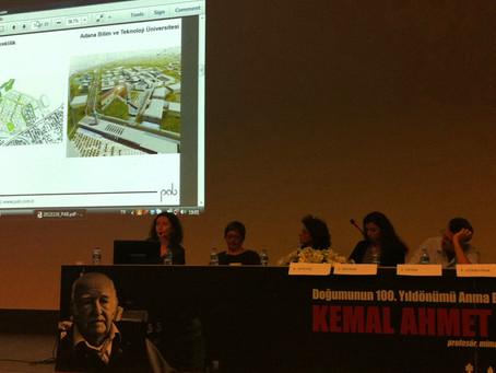 Kentsel Tasarıma Genç Bakışlar Paneli'ndeydik