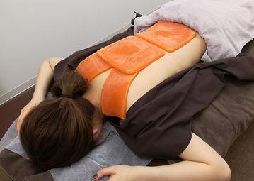 肩こり、頭痛、五十肩、特殊ロウ治療