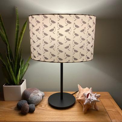 greedy gullie grey&white table lamp