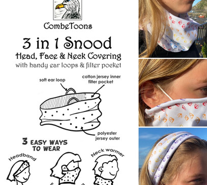 3-in-1 snood