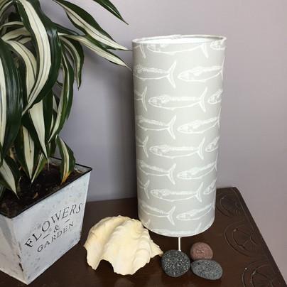 mackerel grey table lamp