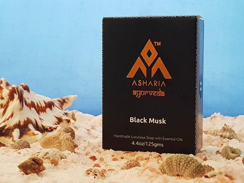 Mydlo Luxury Čierny mošus