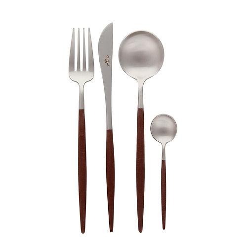 GOA : Brown/Silver