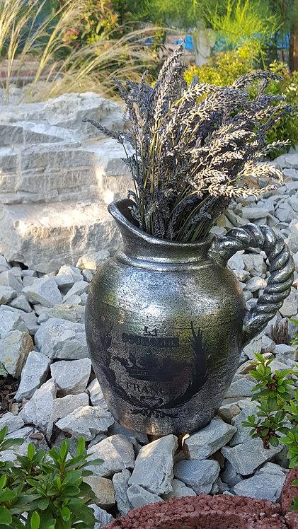 Hlinená váza nízka