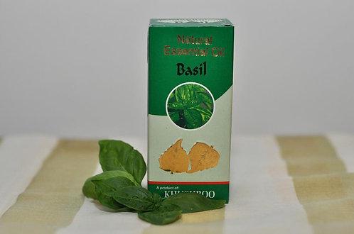 Bazalka - esenciálny olej