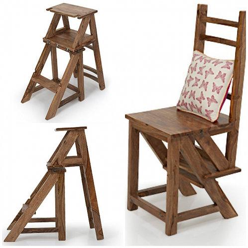 CRIB - stolička a rebrík 2 v 1