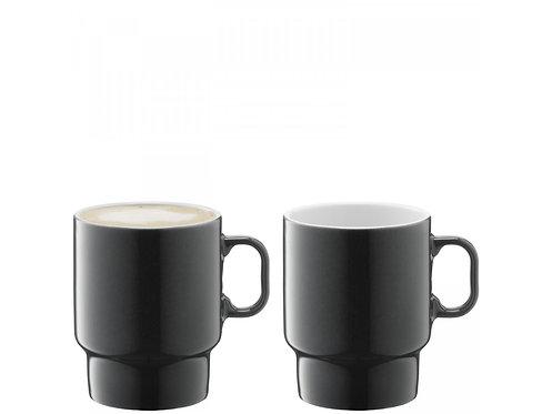 UTILITY Cappuccino Mug X 2 - 380 ml