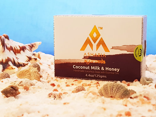 Mydlo premium Kokosové mlieko s medom