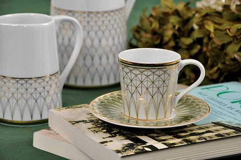 OLIVA - čajová súprava
