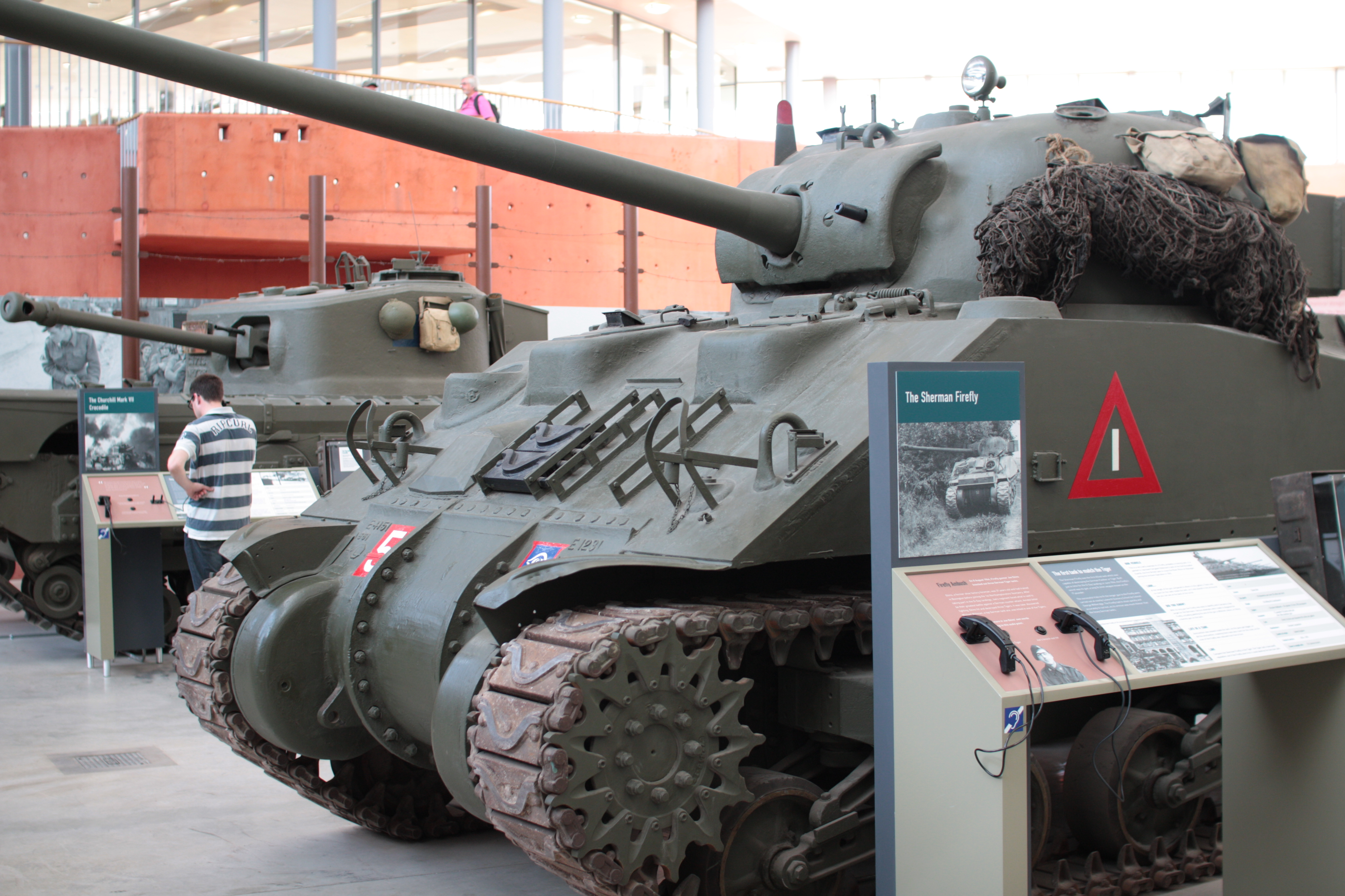 Tank at the Tank Museum