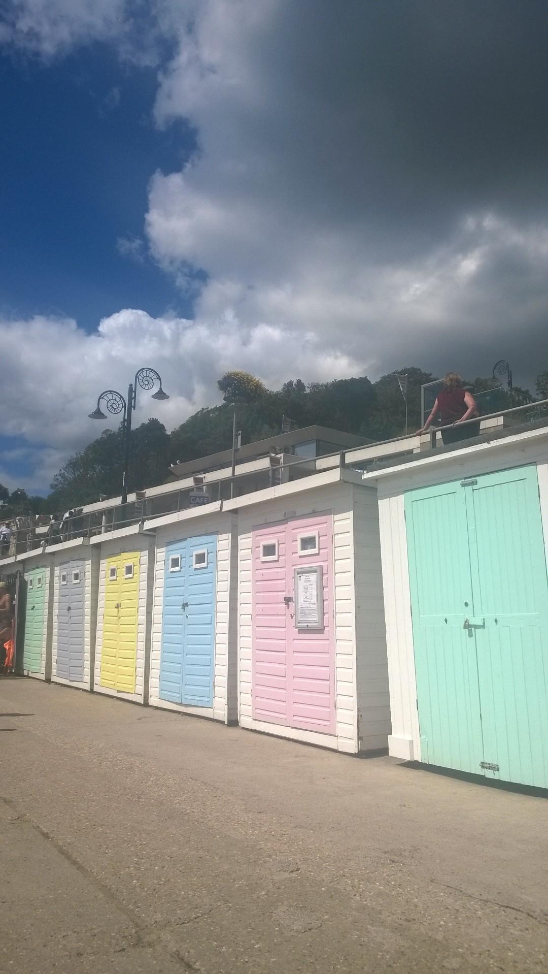 Beach Huts at Lyme Regis
