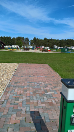 Block-Paved Fully-Serviced pitch