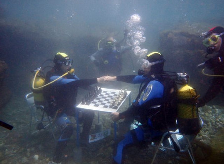 The Oddest Place You Will Find Chess