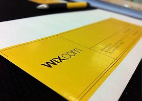 Wix Sticker