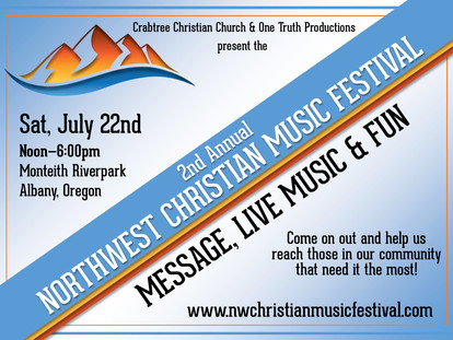 2017 2nd Annual  Northwest Christian Music Festival