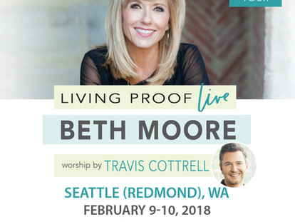 """Living Proof """"Live"""" with Beth Moore"""