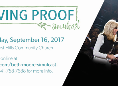 Living Proof Simulcast w/ Beth Moore