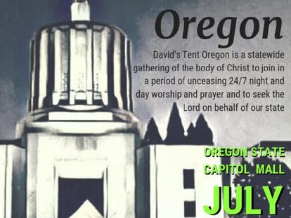 David's Tent - July 12th-20th