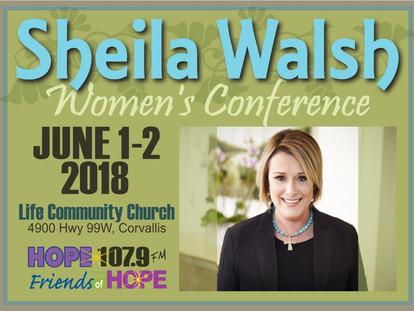 Sheila Walsh - Women's Conference