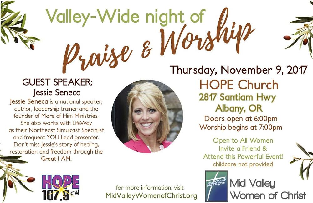 Praise, Bible of Study, Willamette Valley
