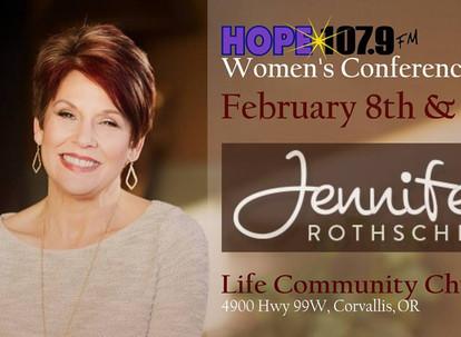 Hope 107.9 Women's Conference  Jennifer Rothschild