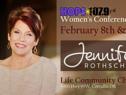 Hope 107.9 Women's Conference  Jennifer Rothschild