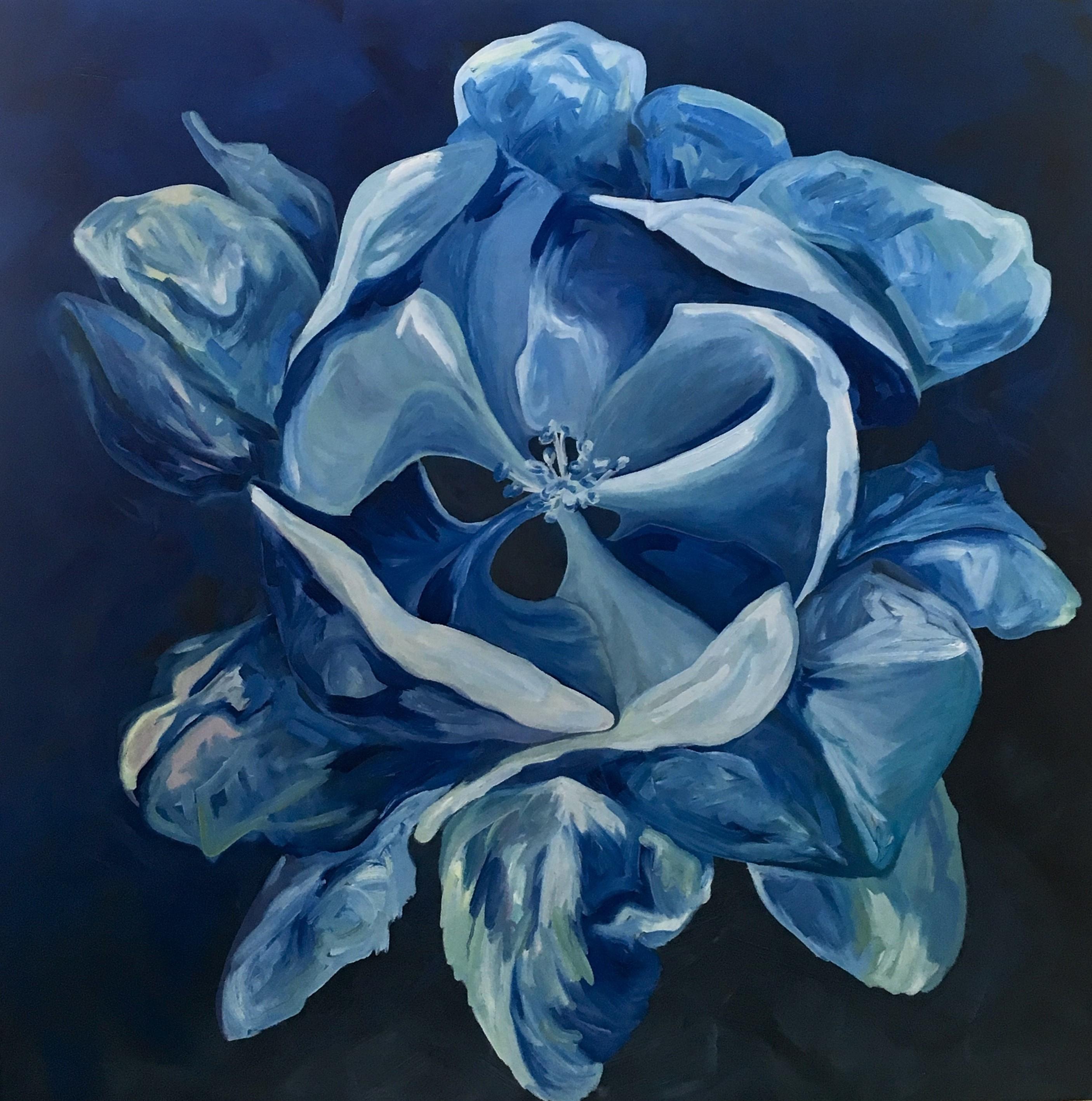 Blue Apple Blossom