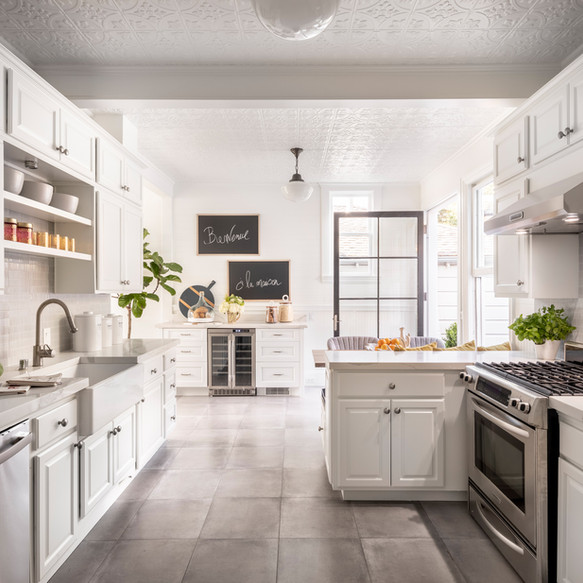 Light and Bright Family Kitchen