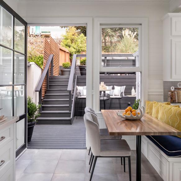 San Francisco, California family kitchen