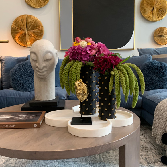 Fun Face Filled Living Space