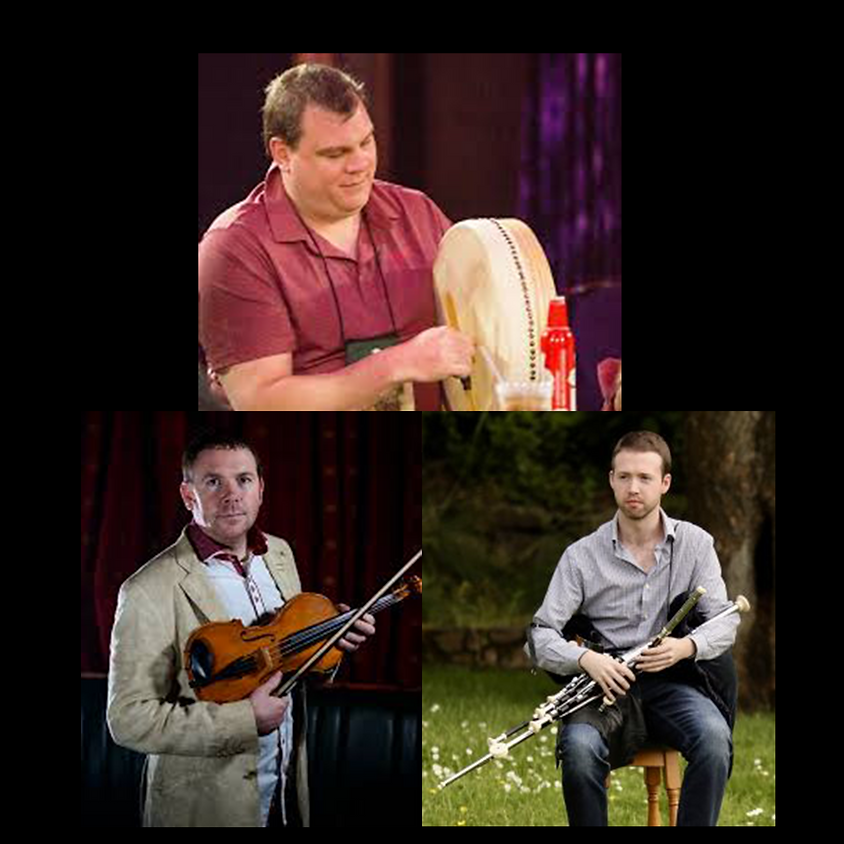 Lunchtime Concert - Donnchadh Gough, Caoimhin O'Fearghail and Paddy Tutty