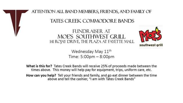 Moe's Restaurant Fundraiser