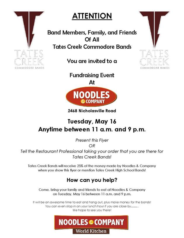 Restaurant Night: Noodles