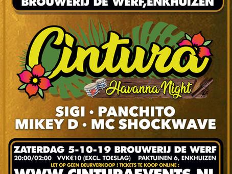 """CINTURA """"Havana Night"""" kaartverkoop start morgen!"""