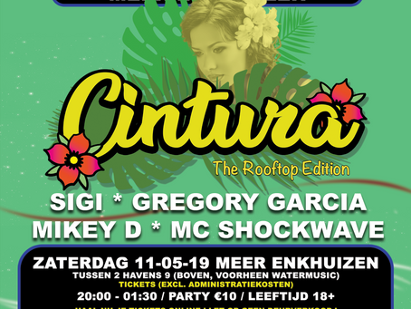 """CINTURA """"The Rooftop Edition"""" ( 11 MEI 2019)"""