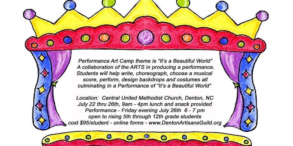 Summer Performance Art Camp
