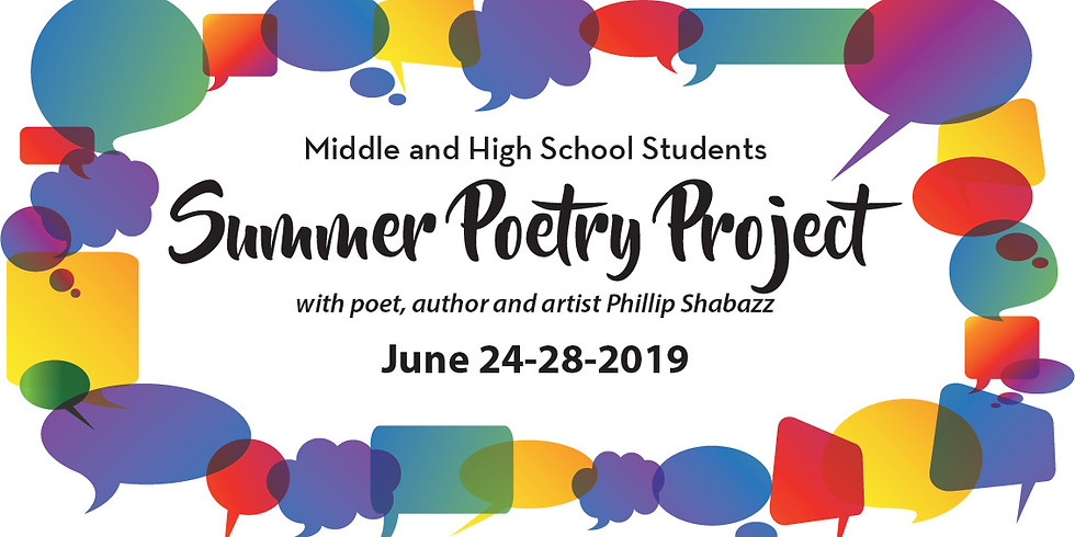 Summer Poetry Project 2019