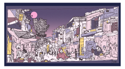 Busy Hanoi Street - Bryony Pimble